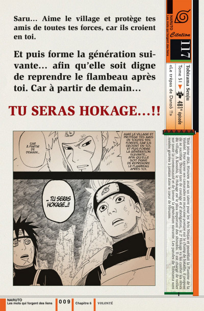 Page 9 Naruto les liens - tome 2