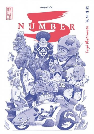 Couverture Number 5 - intégrale tome 1