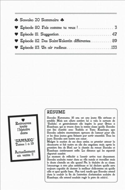 Page 2 Sawako tome 20