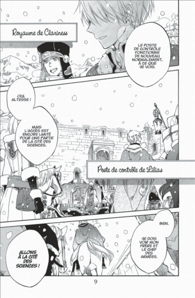 Page 9 shirayuki aux cheveux rouges tome 10