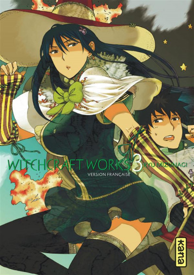 Couverture Witchcraft works tome 3