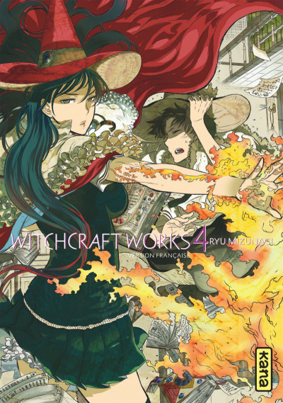 Couverture Witchcraft works tome 4