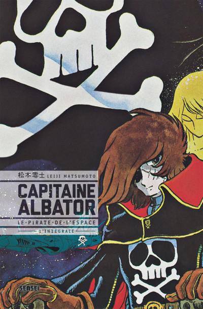 Couverture capitaine Albator - le pirate de l'espace - intégrale