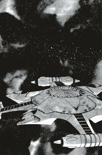 Page 7 capitaine Albator - le pirate de l'espace - intégrale