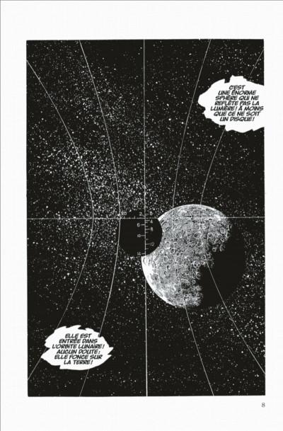 Page 8 capitaine Albator - le pirate de l'espace - intégrale