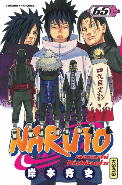 Couverture Naruto tome 65