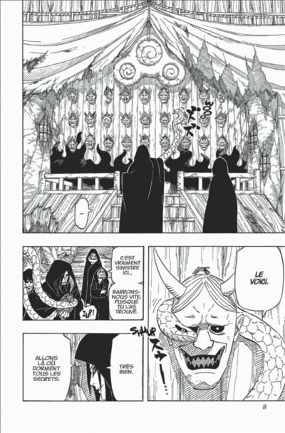 Page 8 Naruto tome 65