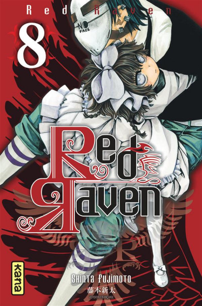 Couverture red raven tome 8