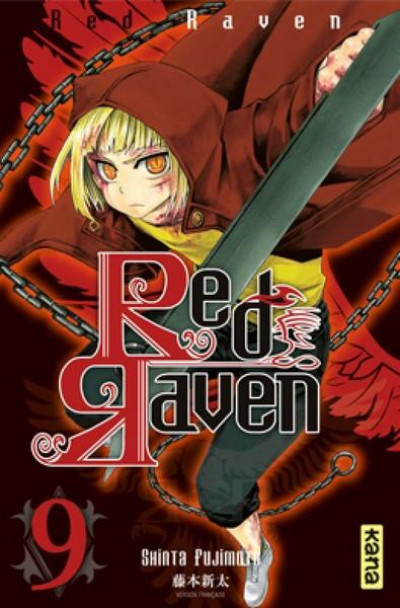 Couverture red raven tome 9
