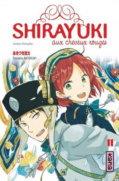 Couverture Shirayuki aux cheveux rouges tome 11