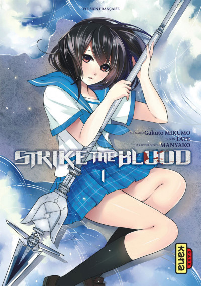 Couverture strike the blood tome 1