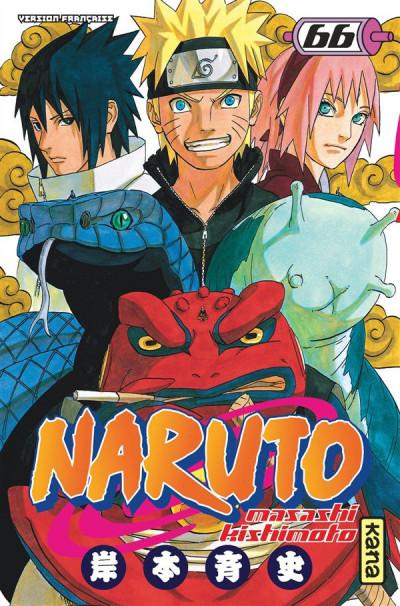Couverture Naruto tome 66