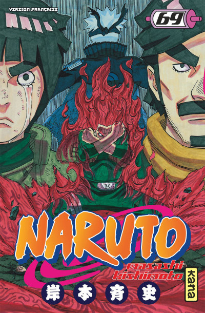 Couverture Naruto tome 69