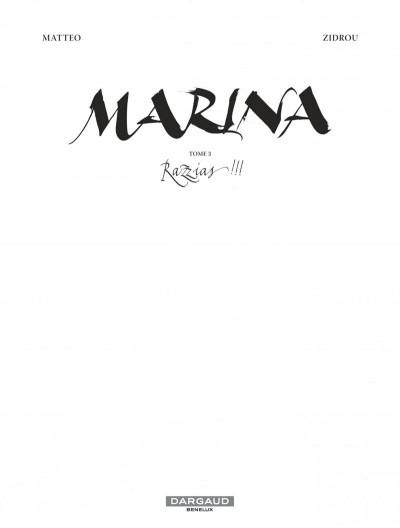Page 1 Marina tome 3