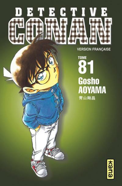 Couverture Détective Conan tome 81