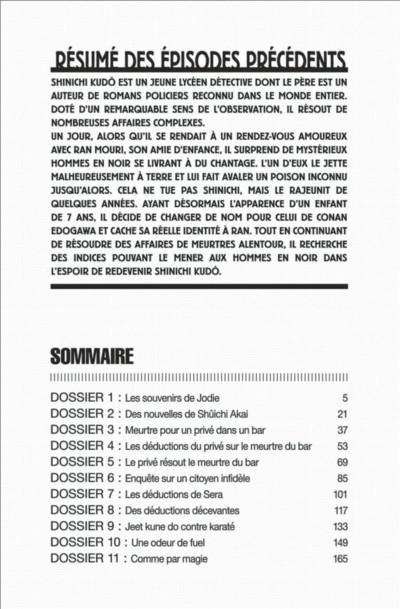 Page 4 Détective Conan tome 81