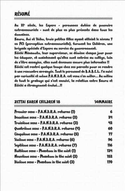Page 4 Zettai Karen Children tome 18