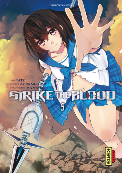 Couverture Strike the blood tome 5
