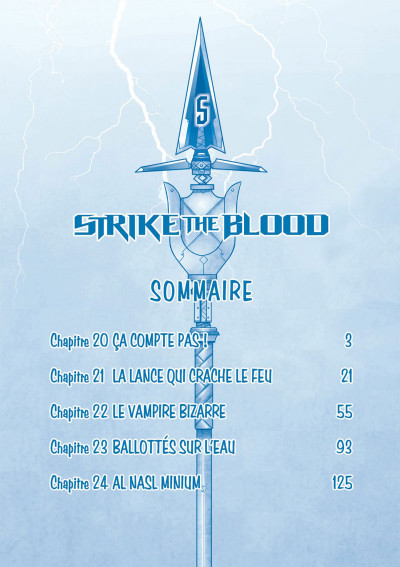 Page 2 Strike the blood tome 5
