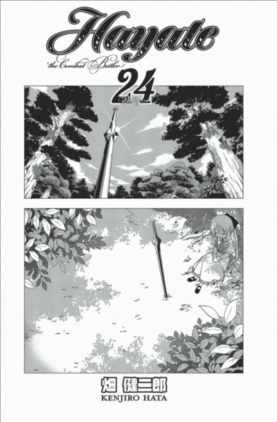Page 3 Hayate the combat butler tome 24