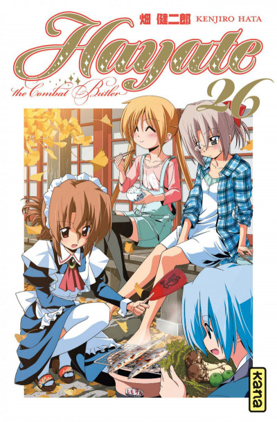 Couverture Hayate the combat butler tome 26