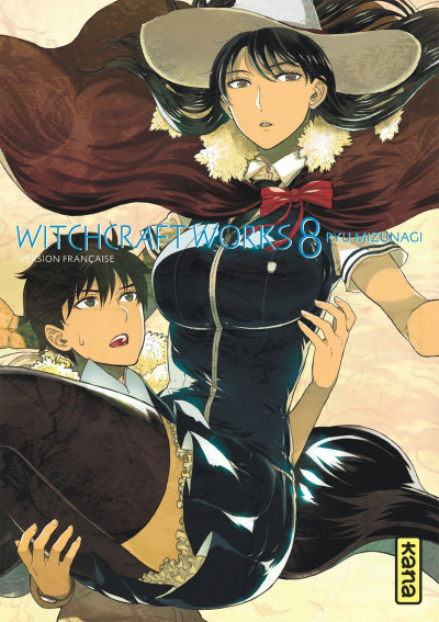 Couverture Witchcraft Works tome 8