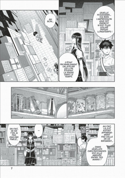 Page 7 Witchcraft Works tome 8