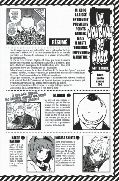 Page 4 Assassination Classroom tome 10