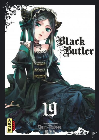 Couverture Black Butler tome 19