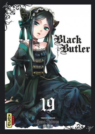 Couverture Black Butler tome 19