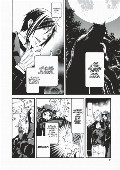 Page 8 Black Butler tome 19