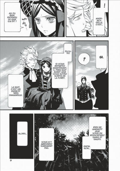 Page 9 Black Butler tome 19