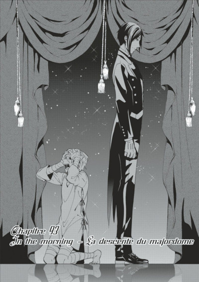 Page 3 Black Butler tome 20