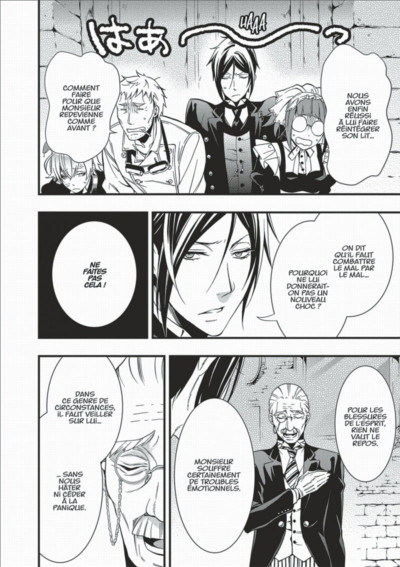 Page 4 Black Butler tome 20