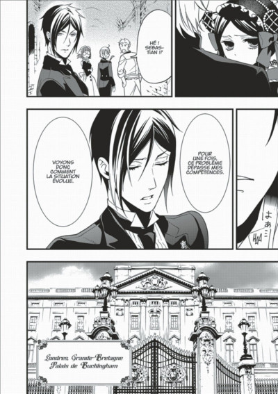 Page 6 Black Butler tome 20