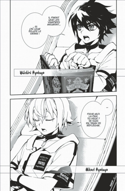Page 8 Seraph of the end tome 1