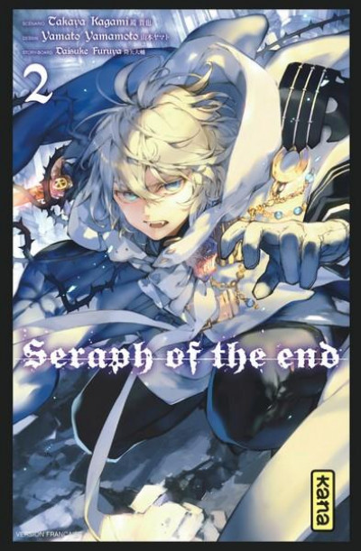 Couverture Seraph of the end tome 2