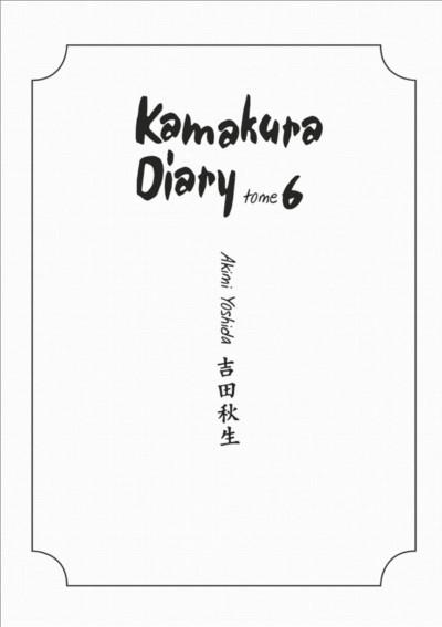 Page 3 kamakura diary tome 6