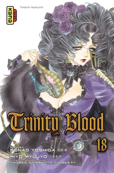 Couverture Trinity blood tome 18
