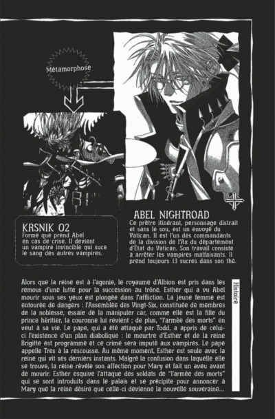 Page 2 Trinity blood tome 18