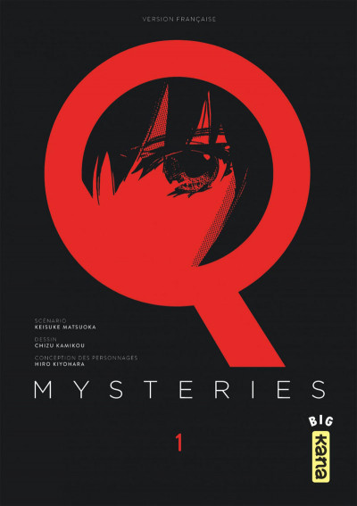 Couverture Q Mysteries tome 1