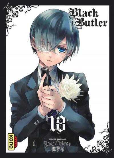 Couverture Black Butler tome 18