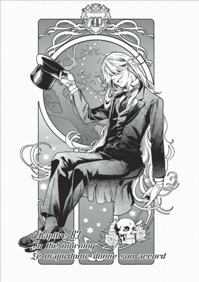 Page 3 Black Butler tome 18