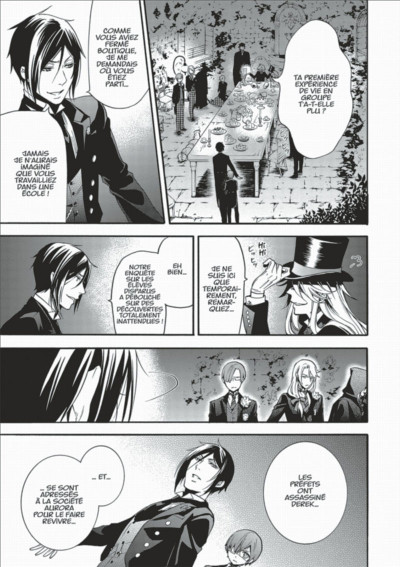 Page 5 Black Butler tome 18