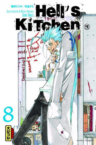 Couverture Hell's Kitchen tome 8