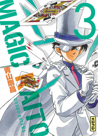Couverture Magic Kaito tome 3
