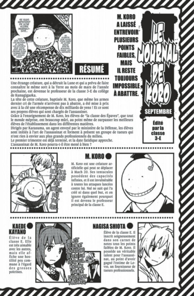 Page 4 Assassination Classroom tome 9