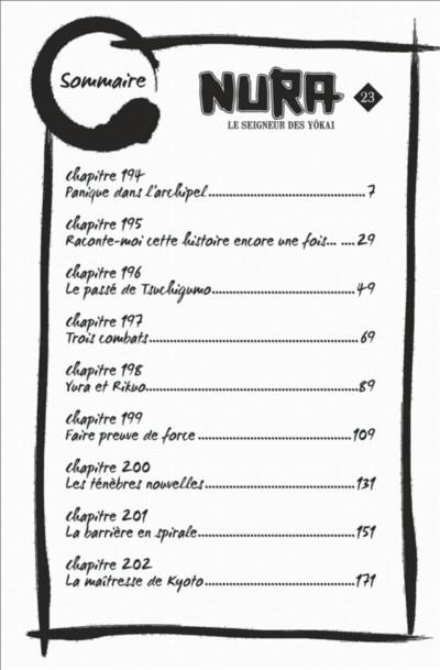 Page 6 Nura le seigneur des yôkai tome 23