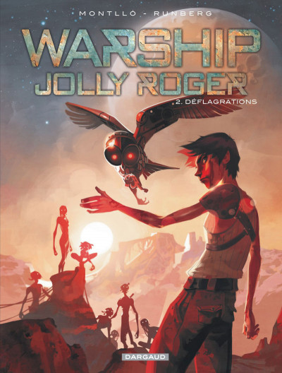 Couverture Warship Jolly Roger tome 2
