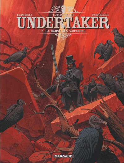 Couverture Undertaker tome 2